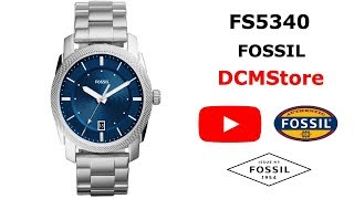 FS5340 Fossil Machine Blue Dial ...... DCMStore