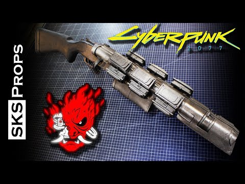 Cyberpunk 2077 Con Safe Cosplay Weapon