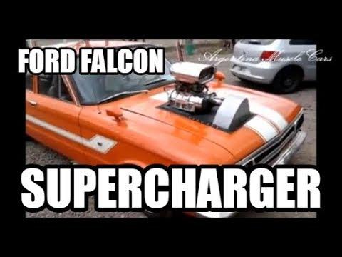 UN FORD FALCON CON SUPERCHARGER EN MENDOZA