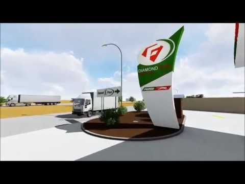 New Diamond Fuel Filling Station