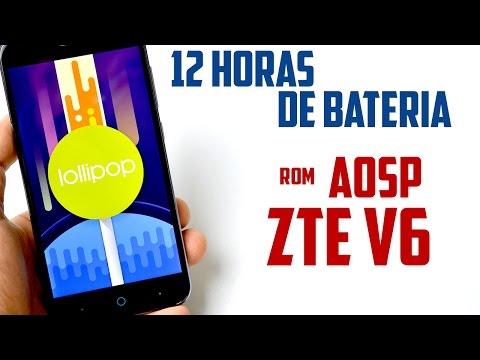 12 Horas de Bateria en tu Android | Rom AOSP ZTE V6 | Tecnocat