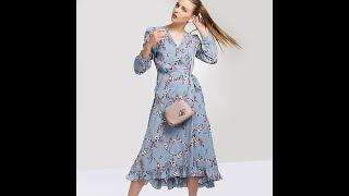 Платье TOP20 STUDIO 20-403-3 light blue (размер One)