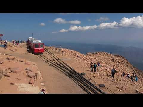 Pikes Peak Cog Railway – A Passenger's View – 4K