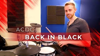 Video Drum Lesson - Back In Black by ACDC download MP3, 3GP, MP4, WEBM, AVI, FLV November 2018