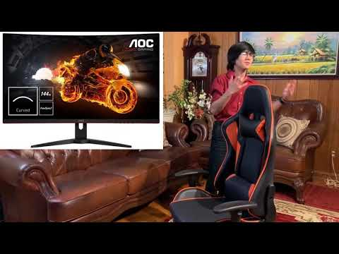 work-from-home-using-this-amazing-costway-gaming-racing-high-back-office-chair-|-review-full-length