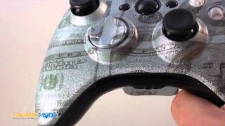 Benjamins Modded Xbox 360 Controller Exclusively from GamingModz.com