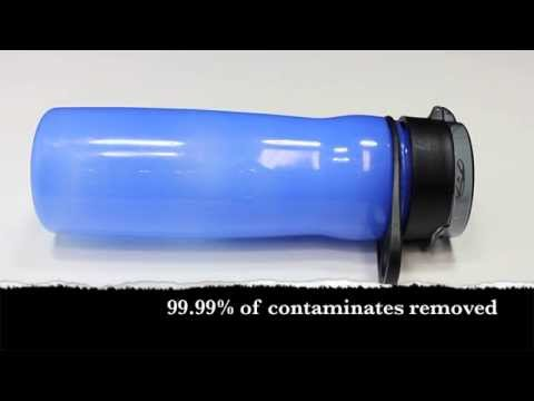 Puritii Water Bottle: Probably The Best Water Bottle Filter System