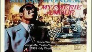 Stevie Wonder - Yester-Me, Yester-You, Yesterday