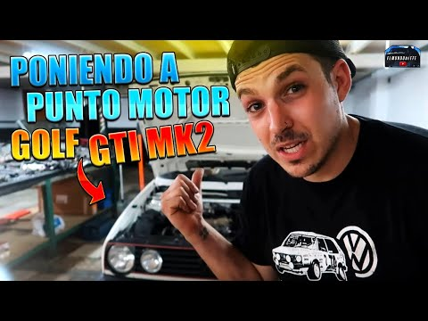 🔧 Poniendo a punto el Motor del GOLF GTI MK2😀 ¿Distribucion MAL COLOCADA? 🤔 | ELMUNDOdeEFE