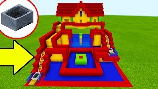 """Minecraft Tutorial: How To Make A Rollercoaster Parkour Course House """"Fun House Tutorial"""""""