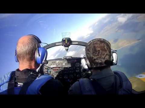 Slingsby firefly aerobatic training
