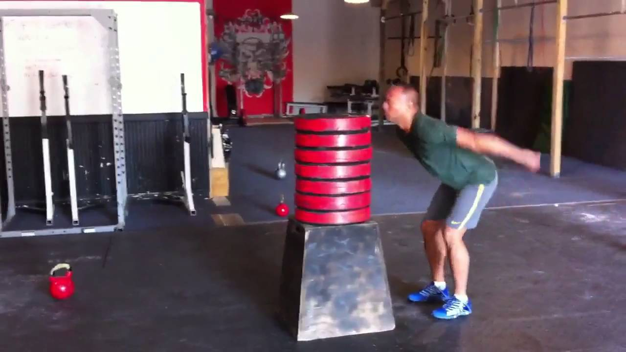 Crossfit Max Height Box Jump Youtube