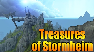 Glimmering Treasure Chest - Watchman's Rock Stormheim (68.4 29.6)
