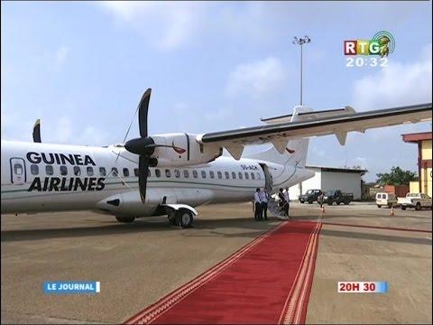 www.guineesud.com - RTG du 25 février 2017 : lancement de la campagnie Guinea Airlines