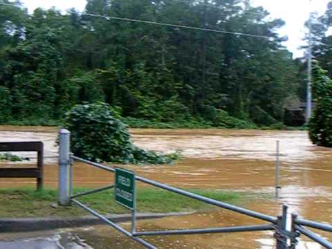 Floods at Noonday Soccer fields 9-21-09