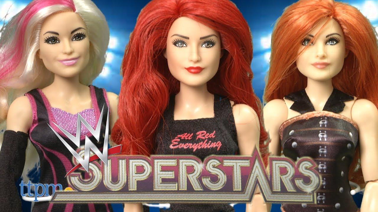 Wwe Superstars Eva Marie Doll
