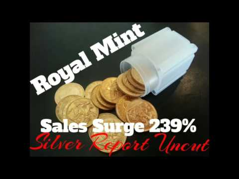 Silver and Gold Fire Up as Sales Surge 239% Uncertainty and Fears of Economic Collapse
