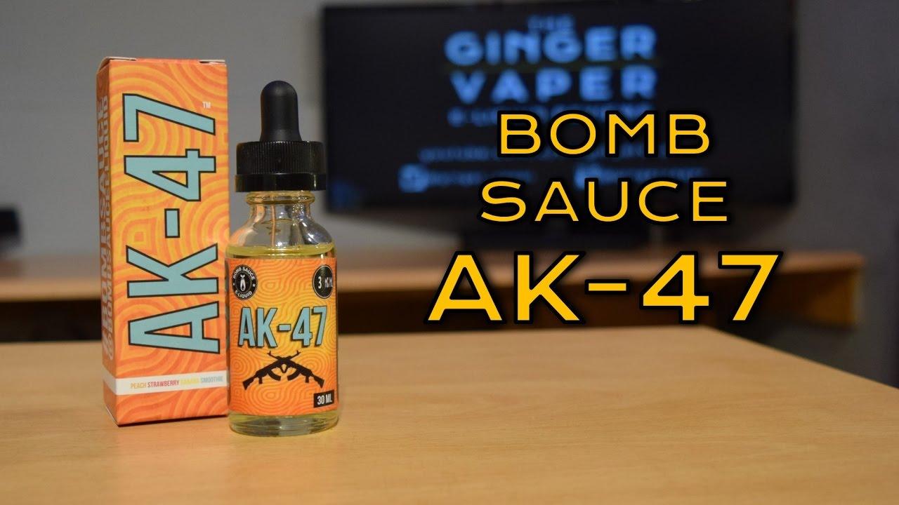 AK-47 e-Liquid Review by Bomb Sauce