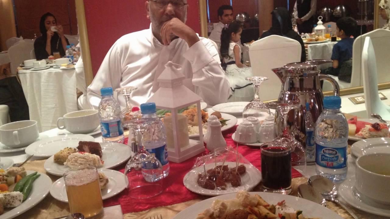 عزومة افطار رمضان 2016 من المدام وفرح بمناسبة عيد ميلادي / شرف الدين سيد