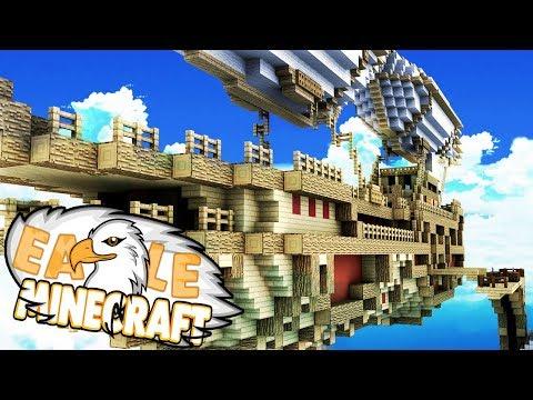 Das Luftschiff aus meinem Traum?!  Minecraft Eagle 10 DeutschHD
