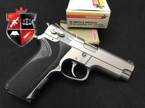 Smith & Wesson 4006 and History of 40 Cal Cartridge