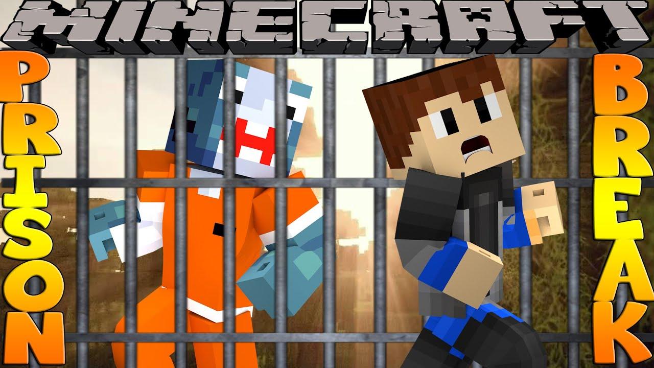 Minecraft PRISON BREAK - SCUBA STEVE'S FIRST DAY