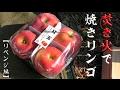 焚き火で焼きリンゴ 【リベンジ編】 Grilled apples with bonfire