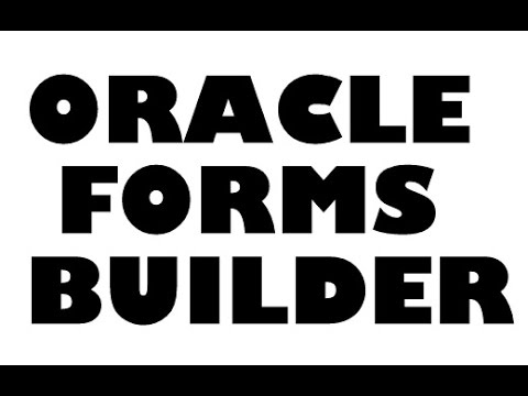 Steps to develop Oracle apps forms