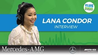 Lana Condor on Working with Noah Centineo and 'Alita: Battle Angel' | Elvis Duran Show