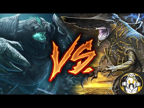 Knifehead vs Leatherback - Who Wins? | Pacific Rim: Uprising