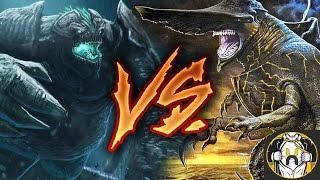 Knifehead vs Leatherback - Who Wins? | Pacific Rim: Uprising