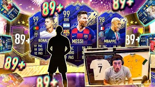 SO MANY TOTY'S!! MORE 2 x 89 GUARANTEED PACKS! FIFA 20 Ultimate Team