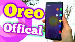Galaxy S8 Official Oreo Update