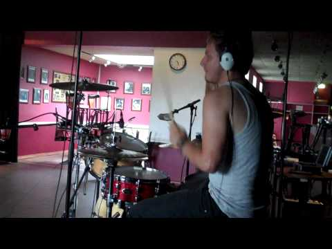 Patrick Alexander - Recording session with Mark Falgren on drums 2