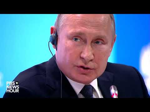 Putin responds to charges Trump's election was influenced by Russia