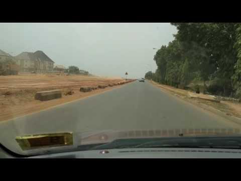 Sunday driving in Abuja.