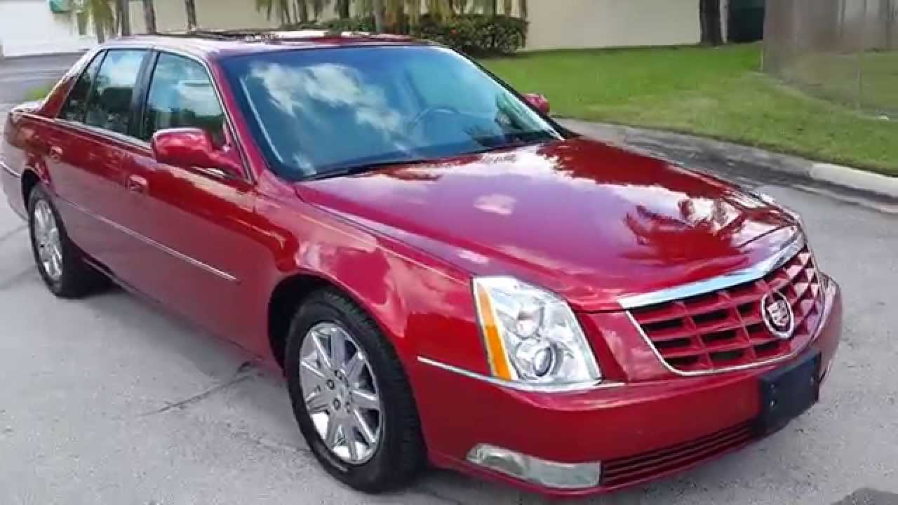 for sale 2010 cadillac dts with navigation sedan in miami florida youtube. Black Bedroom Furniture Sets. Home Design Ideas