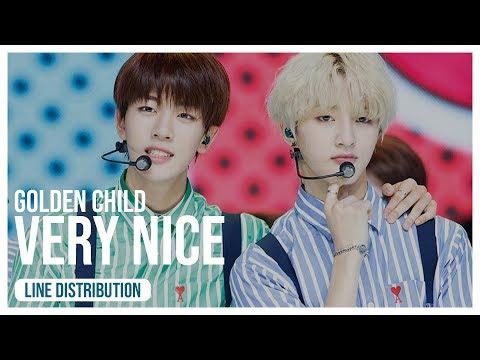 Golden Child - Very Nice (Line Distribution)