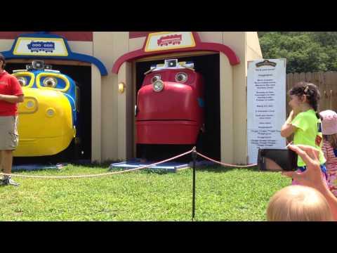 REAL Chuggington Engines Sing Chuggington Theme Song!