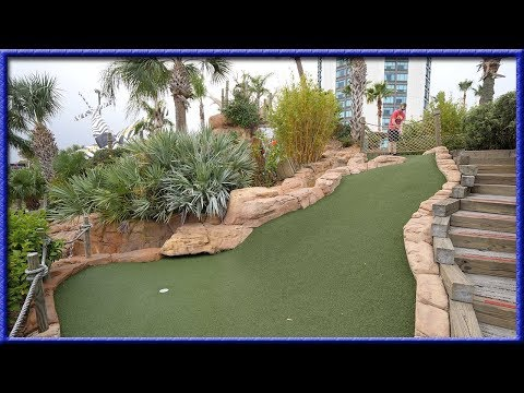 ONE OF THE MOST FUN MINI GOLF COURSES WE HAVE EVER PLAYED!
