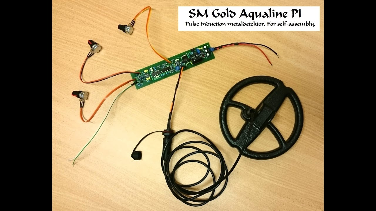 Pulse Induction Metal Detector Sm Gold Aqualine Pi Youtube Circuit Diagram