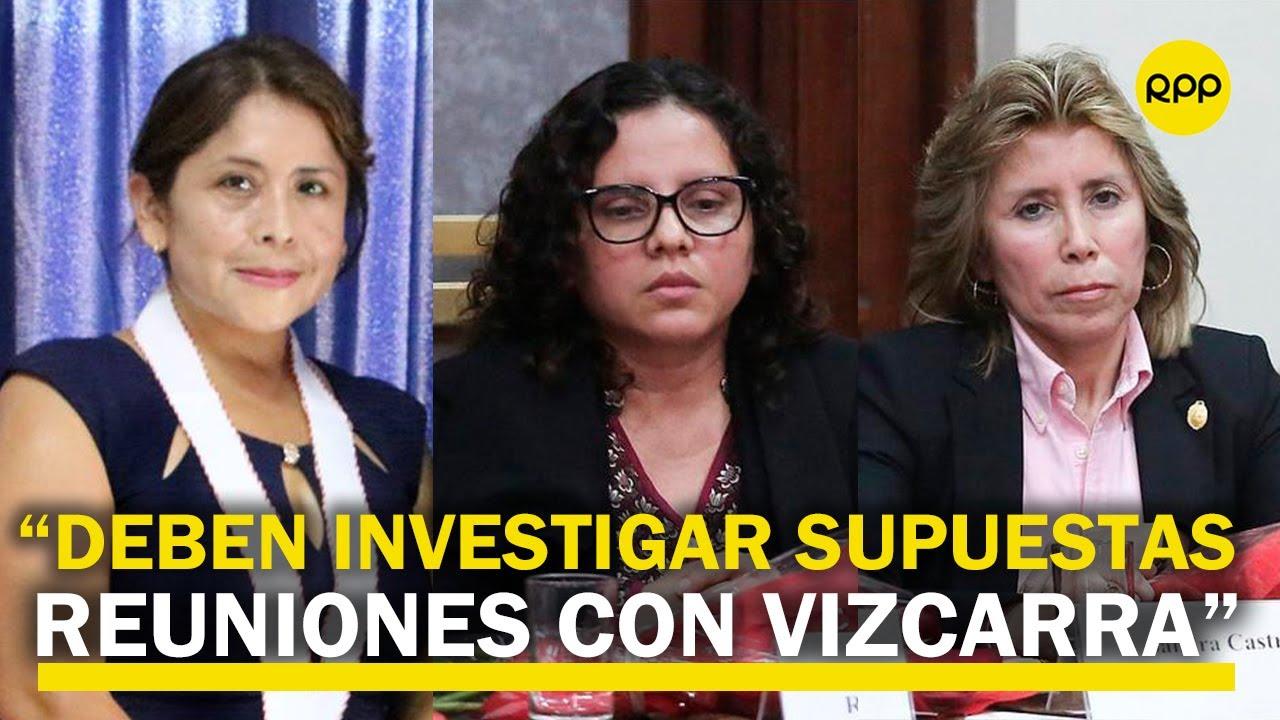 Cuellos Blancos: Fiscal Roxana Jáuregui considera que Sandra Castro y Rocío Sánchez deben apartarse del caso tras revelarse reunión con Martín Vizcarra   RPP Noticias
