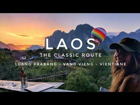 Laos Motorbike Trip | From Luang Prabang to Vientiane (via Vang Vieng)