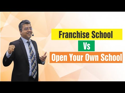 Franchise vs open your own school? | why are u discouraging those who want to start by themselves?