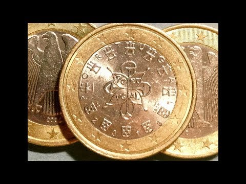 1 & 2 Euro Coins From Different Countries