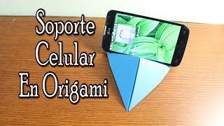Base Para Celular En Origami / Origami Support For Smartphone