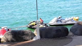 חוף התכלת טבריה - סיור בחוף