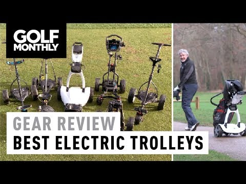 Best Electric Trolleys 2018 I Golf Monthly
