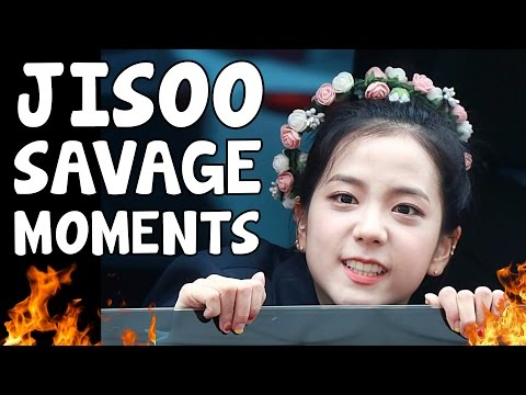 BLACKPINK JISOO SAVAGE MOMENTS
