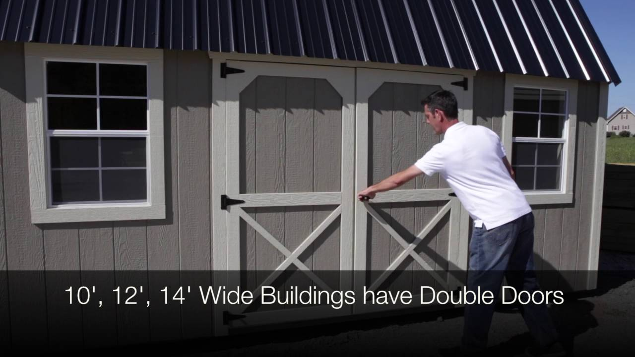 side lofted barn youtube